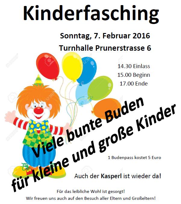 Buntes Treiben in der Turnhalle – Kinderfasching!